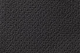 perforated black leather texture