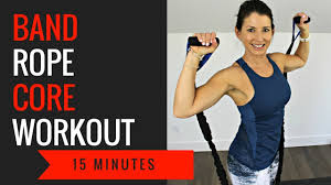 minute workout using a jump rope