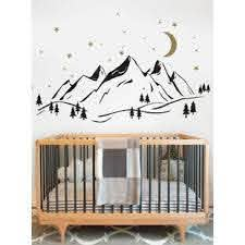 Mountain Wall Decal Wayfair