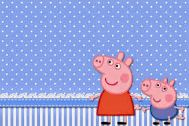 George Pig Invitaciones Para Imprimir Gratis Ideas Y Material