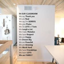 Gigantic In Our Classroom Removable Wall Decal Teacherfanatics Com
