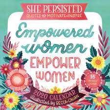 she persisted quotes to motivate wall calendar com