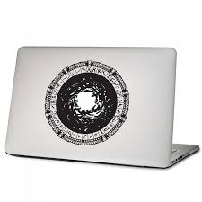 Stargate Laptop Macbook Vinyl Decal Sticker