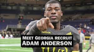 Recruiting spotlight: Get to know 5-star OLB Adam Anderson - YouTube