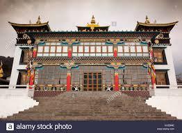 India, Arunachal Pradesh, Tawang, Khinmey Nyingma Monastery Stock ...