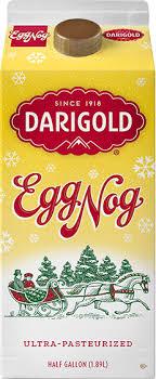 clic eggnog half gallon carton
