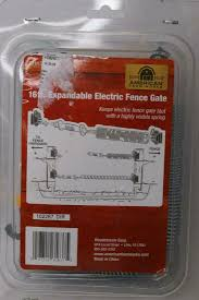 American Farm Works Ghks16 Afw 16 Ft Electric Fence Spring Gate Kit For Sale Online