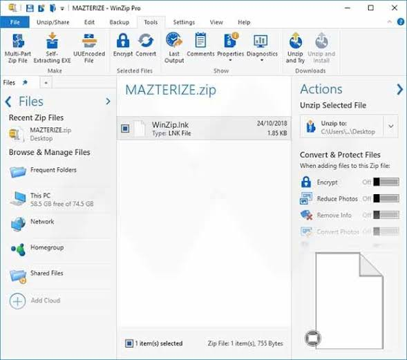 Image result for Winzip Pro 2020 Crack""