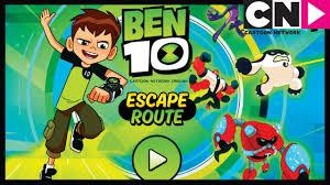 ben 10 games escape route app