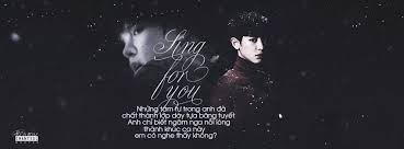 quotes chanyeol exo sing for you by pegau on