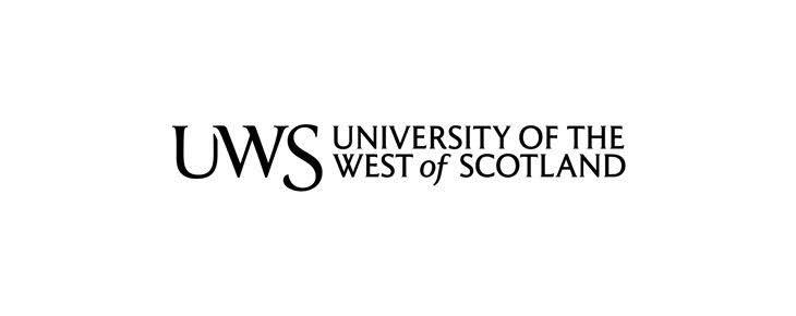 "Image result for University of West of Scotland logo"""