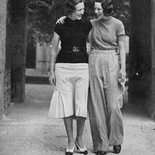 Adele Astaire and Tilly Losch, Lismore Castle, Ireland, 1933. | Adele  astaire, Adele, Erdem moralioglu