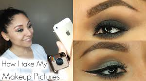 how i take my insram makeup pictures