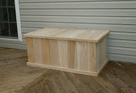 outdoor chest plans plans diy free