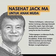 quotes jack ma yang akan memotivasimu dalam meraih sukses