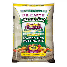 dr earth 1 5 cu ft raised bed soil mix