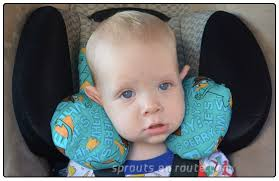 ser baby travel pillow tutorial diy