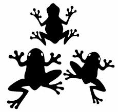Tree Frog Set Of 3 Car Truck Cup Laptop Window Vinyl Decal Sticker 12 Colors Car Truck Graphics Decals