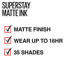 maybelline superstay matte ink city