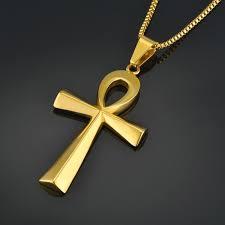egyptian ankh necklace pendant egito