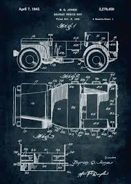 No057 - 1941 - Military vehicl...' Metal Poster Print - Xavier Vieira |  Displate