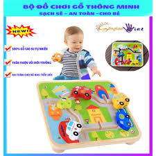 Đồ chơi gỗ thông minh KABI giúp phát triển tư duy cho bé an toàn sạch sẽ cho  bé khi vui chơi -Hàng l cao cấp loại 1