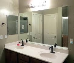 decoration white wooden framed bathroom
