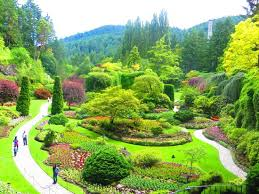 the butchart gardens central saanich