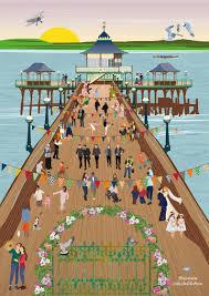 One Direction Pier Broadchurch Ciudad Invitaciones Y