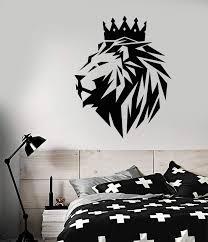 Lion King Crown Vinyl Wall Sticker Decalsnation