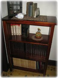 wooden homemade bookcase design