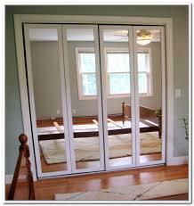 mirrored bi fold closet doors menards