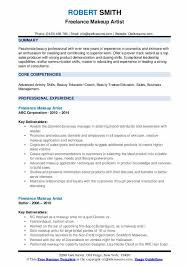 freelance makeup artist resume sles