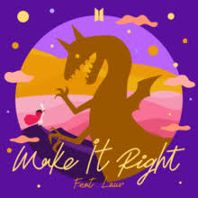 make it right bts song