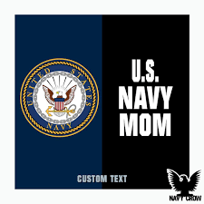Us Navy Mom Split Military Decal Made In The Usa From Navy Crow