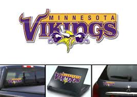 Minnesota Vikings Nation Bumper Window Vinyl Decal 7x3 Ebay