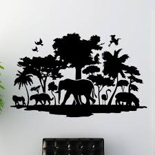 Style And Apply Jungle Wall Decal Wayfair