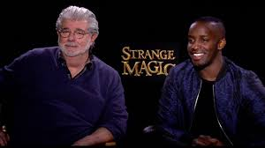 Strange Magic Interview: George Lucas & Elijah Kelley - YouTube