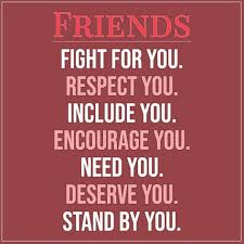 friends fight for you scattered quotes