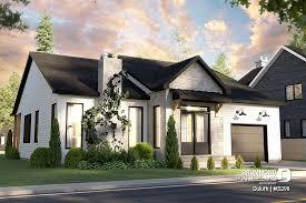 modern craftsman house plan drummond