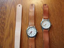 leather watch band for timex weekender