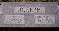 Mildred Adeline Bailey Joseph (1924-1997) - Find A Grave Memorial