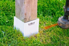Post Shields Shields Your Posts From String Trimmer Damage