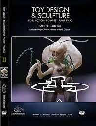 Amazon.com: Toy Design & Sculpture for Action Figures & Collectibles - Part  2: Sandy Collora, Stan Winston School of Character Arts: Movies & TV