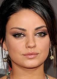 celebrity makeup ideas for hazel eyes