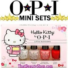 qoo10 opi mini nail gift bath body