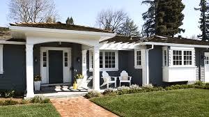 exterior house color idea with brick