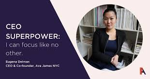 Female Founder Feature - Eugena Delman, Ava James NYC - Female Founders  Alliance