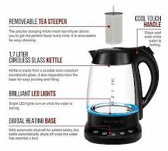 chefman programmable electric kettle