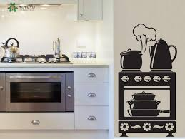 Wall Decal Kitchen Vinyl Wall Stickers Oven Pattern Modern Design Removable Home Decor Interior Cute Art Mural Decal Sticker Decals For Walls Sticker Decor From Onlinegame 11 31 Dhgate Com